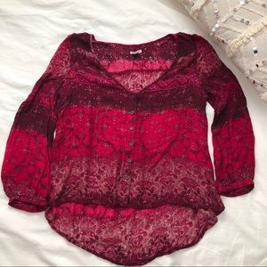 Urban Outfitters Boho Blouse